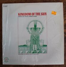 "Peru's Inca Heritage ""Kingdom of the Sun"" Nonesuch Roots LP 1969"