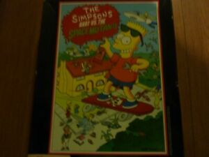 The Simpsons Bart VS the Space Mutants by Ocean for Atari ST- RARE!