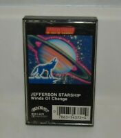Vintage Jefferson Starship Winds of Change Rock Cassette Tape Ex+ Rare 1971 1982