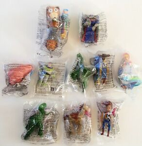 Vintage 1996 McDonald's Happy Meal Toys Complete Set Toy Story 2000 Slinky Woody