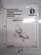 New Holland Tractors Series 25 30  Service Parts Catalog New 58153040 11/96