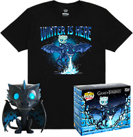 ICY VISERION GLOW EXCLUSIVE + TSHIRT FUNKO POP GAME OF THRONES #22 PRE ORDER