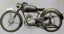 MONTESA D51 PARTS MANUAL for D51z & D-51 Motorcycle Service & Repair