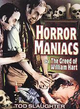 Horror Maniacs (aka The Greed of William Hart) DVD 1948 HORROR