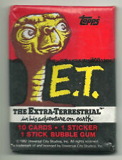 E.T. The Extra-Terrestrial Movie Trading Cards (Topps, 1982) Wax Pack