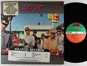 AC/DC - Dirty Deeds Done Dirt Cheap LP - Atlantic VG++