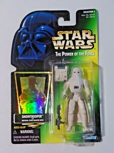 Star Wars The Power of the Force SNOWTROOPER Blaster Rifle NIP 1997 Kenner