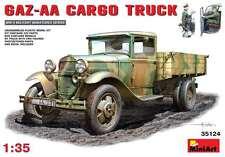 Miniart 1/35 Gaz-Aa Argo Truck  #35124 *Sealed*New Release*