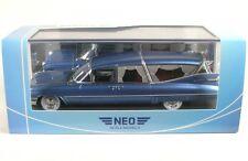 Cadillac S&S Superior Landau Hearse (blue metallic) 1959 Leichenwagen