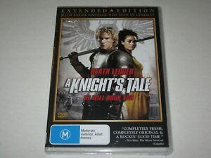 A Knight's Tale - Heath Ledger - Brand New & Sealed - Region 4 - DVD