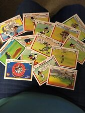 1990 Looney Tunes All Star Trading Cards (14 Cards)