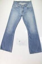Levis 516 Flare Bootcut (Cod. U883) USATO Tg.43 W29 L34 jeans ACCORCIATO