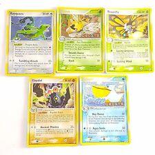 Pokemon TCG Card Deoxys Holo Rare x 5 Beautifly Ninjask Claydol Rayquaza