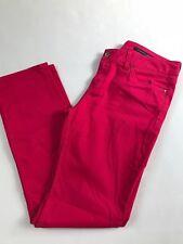 Tommy Hilfiger Damen Hose Jeans ROME Regular Fit dark Rosa Pink Gr. 31/30 Top