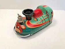Modern Toys Magic Action friction powered tin litho train engine with bell
