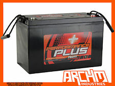 130AH PERFORMACE+ DEEP CYCLE AGM BATTERY 12V SLA SUIT DUAL/CARAVAN/4X4/4WD/100