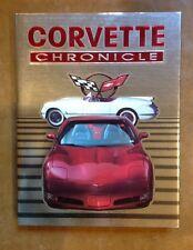 Corvette Chronicle Hardcover Book 1953-2001 Complete Corvette Story 700 Photos