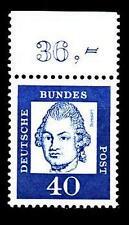 BUND bed. Deutsche (x)  40 Pf, (Mi. 355) ** Oberrandmarke Luxus