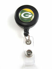 Green Bay Packers Retractable ID Badge/Key Holder