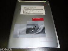Manuale D'Officina Audi A4 B5 Mpfi Sistema di Iniezione Accensione Stand 12/1998