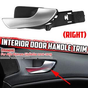 Passenger Side Interior Door Handle Chrome Silver Fit Alfa Romeo Giulietta 10-19