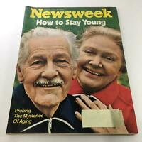 Newsweek Magazine: Apr 16 '73 - How To Stay Young Probing The Mysteries Of Aging