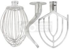 20 Qt Attachment Set Dough Hook Wire Whip Flat Beater For A200 Hobart Bowl Mixer