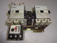 SIEMENS CRL0F4622K6 REVERSING CONTACTOR 110/120V COIL