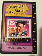Elvis Presley--Magnets by Mail & post card and bio of Elvis