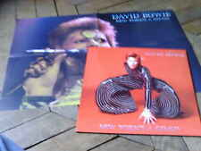 DAVID BOWIE New york's a gogo 2LP & Poster Live in New york 73