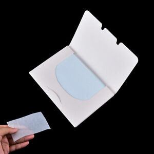 100 Sheets Make Up Oil Control Oil-Absorbing Blotting Facial Face Clean Paper AU