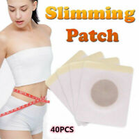 40x Magnetic Slimming Patch Weight Loss Detox Burn Fat Pads Slim Belly Leg Arm~