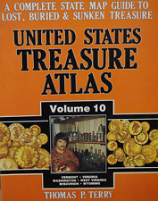 United States Treasure Atlas Book, Volume 10, Thomas Terry, For Metal Detecting