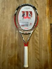 New Wilson BLX2 Steam 105S Spin Tennis prestrung 1/4 (2) Rare  last 1's