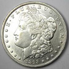 1893 Morgan Silver Dollar $1 (1893-P) - Choice AU Details - Rare Date Coin!