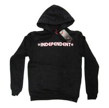 INDEPENDENT - Bar Cross Pop Hood Jumper Black - NEW - SMALL ONLY