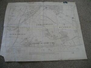 1919 ORDNANCE SURVEY MAP ARMINGHALL BIXLEY MARKSHALL CAISTOR ST EDMUNDS NORFOLK