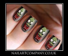 Salad Fingers Cult Nail Art Decals Transfers Stickers Wraps Manicure X 32