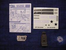 GI Joe Body Part  1986 Motor Viper V1     Left Arm        C8.5  Very Good