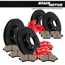 Front And Rear Calipers & Rotors & Pads 1999 2000 2001 2002 Ford Mustang Base GT