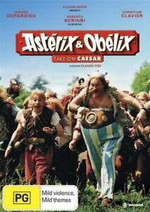 Asterix and Obelix Take on Caesar DVD Gerard Depardieu - Region 4 Australia
