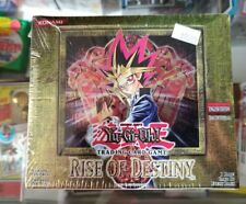 1996 Yu-Gi-Oh Rise Of Destiny First Edition Unopened Box