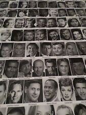 POSTER - 430 Most Influential Actors in the World Cinematography 36 x 24