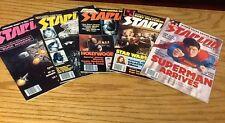 Starlog issues 16-20 - 1978-1979 - Illustrated - Superman - Star Wars - Nimoy