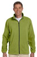 Devon & Jones Men's New Polyester Water Repellent Full Zip Fleece Jacket. D780
