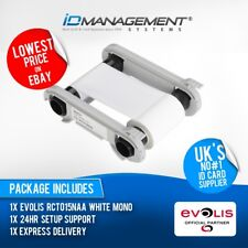 Evolis White Ribbon for Primacy/Zenius Printers • Free UK Delivery