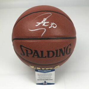 Autographed/Signed STEPHEN CURRY Golden State Warriors Basketball Beckett COA
