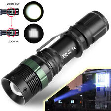 Ultrafire Tactical 15000LM Zoomable CREE XM-L T6 LED Flashlight Torch Light C