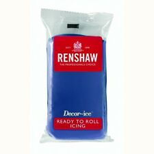 Renshaw Rollfondant DecorIce 250g Powder Blue - Tortendekoration