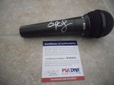 Brad Paisley Signed Autographed Country Music Microphone PSA Certified
